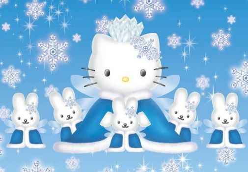Hello Kitty Snow Queen