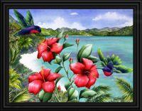 Hibiscus Hummers, Carolyn Steele