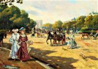 Porte Dauphine Bois de Boulogne (1872)