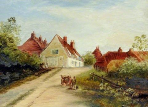 Hollym Road, Withernsea, East Riding of Yorkshire by Florence M. Wooller