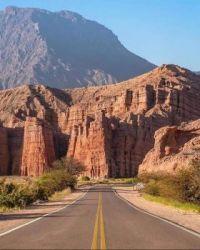 WAY TO CAFAYATE - SALTA - ARGENTINA