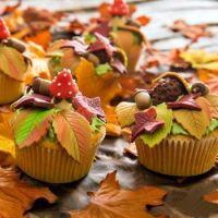 autumnal cupcakes