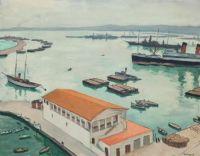 Albert Marquet (French, 1875–1947), La Santé Maritime (1922)