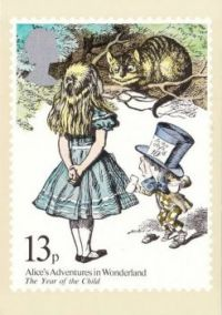 Postcard & envelope pictures 066 - Alice in Wonderland (4 of 4)