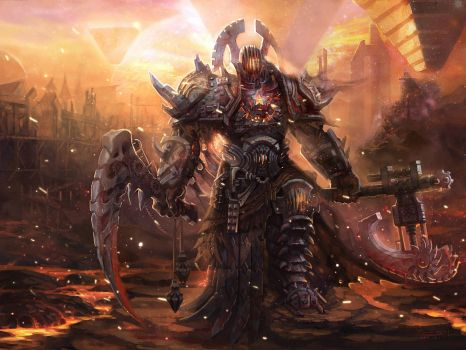 Dark Molten Warrior (Large)