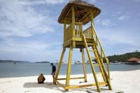 Lifeguard Post, China's resort in Cambodia-1