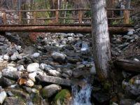 bridge on the trail to Stehekin, Wa.