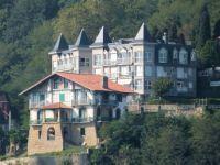 Houses in the mount Igeldo (Donosti)