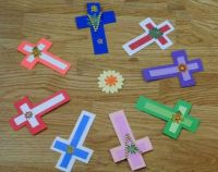 Crosses of many colors