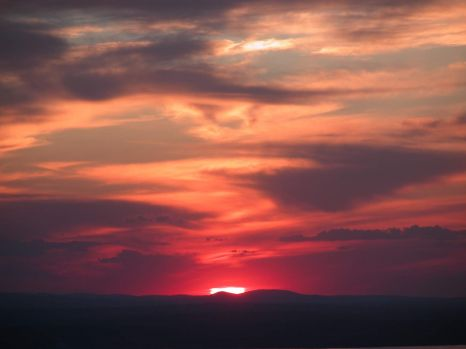 Sunset from Cadillac Mountain - Acadia ME