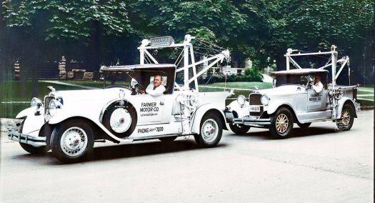 1929(?) Studebaker tow trucks