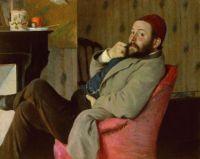 Federico Zandomeneghi (Italian, 1841–1917), Diego Martelli (1879)
