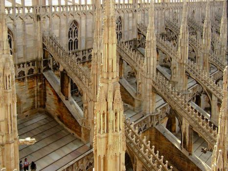 168 Roof of Milan Cathedral