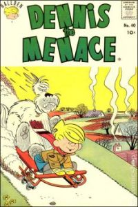 Dennis The Menace: Just Missing The Snow