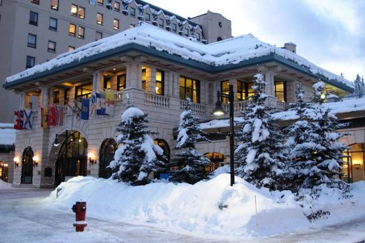 Chateau Lake Louise, Banff, Canada