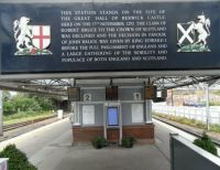 Berwick-upon-Tweed - a history lesson at the station