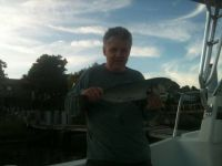 Bill caught a bluefish