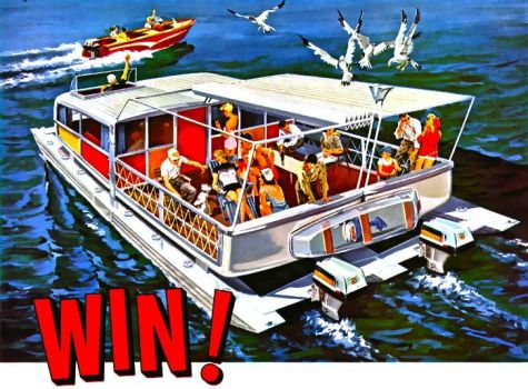 WIN YOUR DREAM BOAT - 1956
