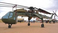 Sikorsky CH-54A Tarhe (Skycrane). Pima Air and Space Museum.