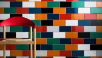 Colorful Tile installation - London