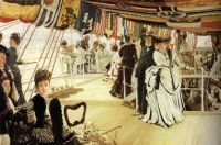 The Ball on Shipboard - Ples na lodi - 1874