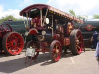 A Burrell Showman's engine.