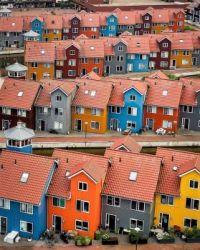 Eye Catchy homes in Groningen, Netherlands