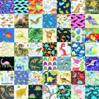 PATCHWORK DINOSAURS 4