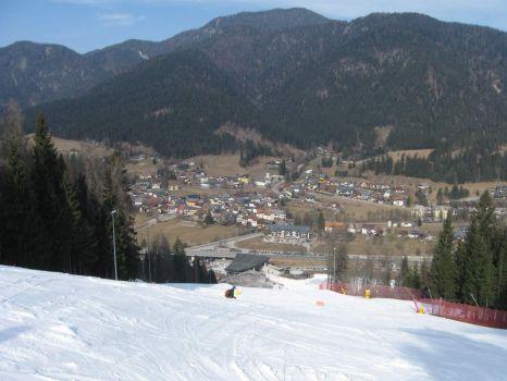 Views of Val Canale - Kanalska dolina