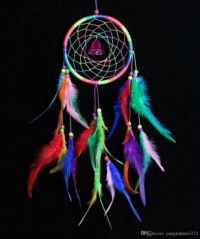 rainbow-dream-catcher-net-car-pendant-handmade