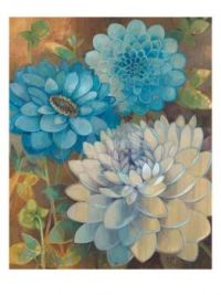 Blue Dahlias