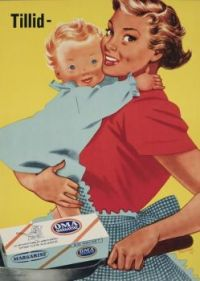 Themes Vintage ads - Danish Oma Margarine
