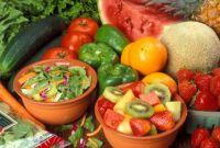Yummy fruits and veggies
