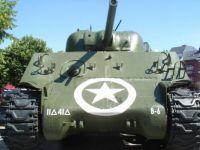 Sherman tank Bastogne
