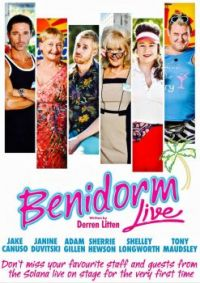 BENIDORM - 2018 NATIONAL STAGE TOUR POSTER