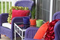 Purple Front Porch