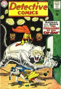 """Batman And Robin In """"The Challenge Of The Cat-Man!"""""""