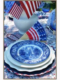 Happy 4th Table Setting