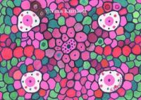 Pink and Green Dots