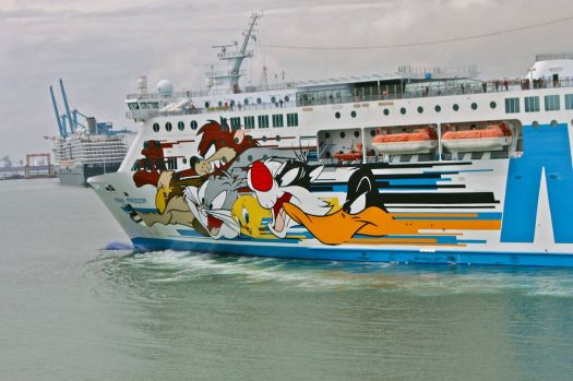 cartoon cruise