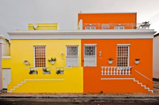 Colourful homes in Cape Town, by Steve Crane (flickr)