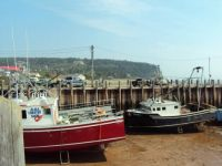 Lobster Boats at Low Tide