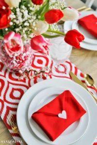 Valentine Envelope Napkin