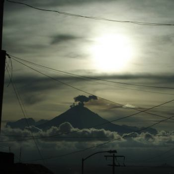 Popocatepetl sundown