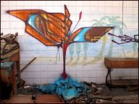 Graffiti, Desert Shores, CA