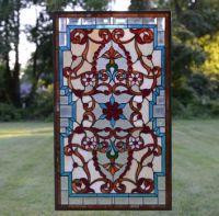 Jeweled Stained Glass Window