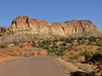 A Winding Road In Capitol Reef NP South Of Fruita.