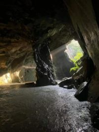 Cathedral Cave, Lake District, UK