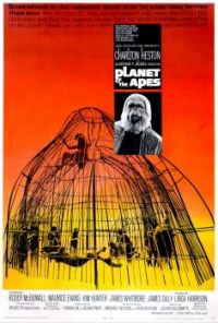 Planet of the Apes (1968) Classic Original Movie Poster