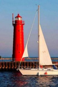 Muskegon Lighthouse....